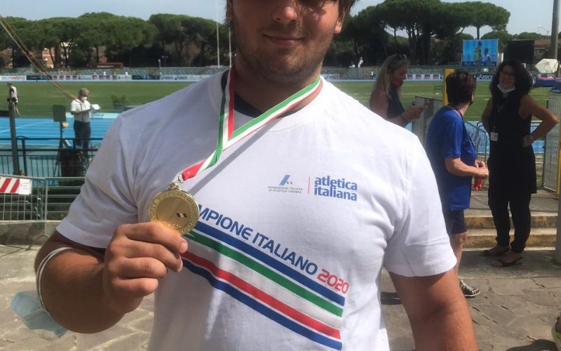IL TIFERNATE GREGORIO GIORGIS (ATLETICA LIBERTAS) CAMPIONE ITALIANO JUNIORES DI LANCIO DEL MARTELLO