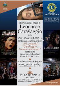 """CONVEGNO """"SULLE TRACCE DI CARAVAGGIO E LEONARDO"""""""