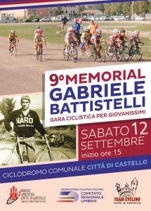 """9° MEMORIAL """"GABRIELE BATTISTELLI"""" DI CICLISMO"""