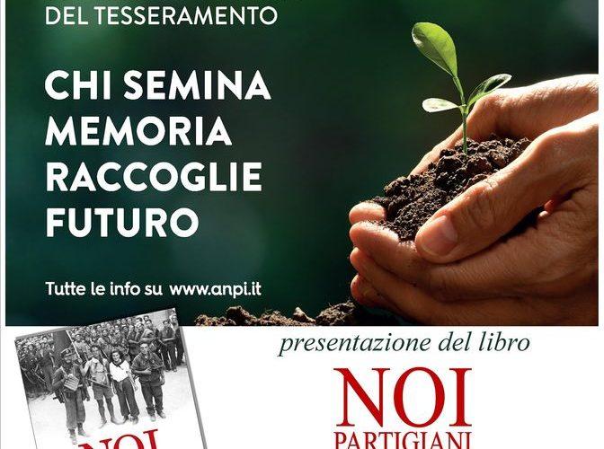 """PRESENTAZIONE LIBRO """"NOI PARTIGIANI – MEMORIALE DELLA RESISTENZA ITALIANA"""""""