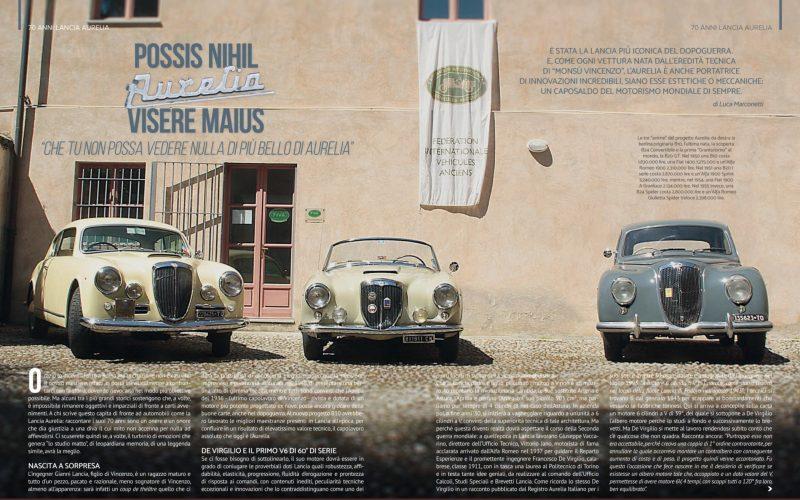 A Terni la Giornata nazionale del veicolo d'epoca: Si festeggia il 70esimo compleanno della Lancia Aurelia