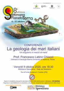 """CONFERENZA """"LA GEOLOGIA DEI MARI ITALIANI"""""""