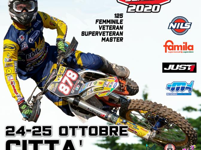 CAMPIONATO ITALIANO SENIOR INNTECK 2020 DI MOTOCROSS, A CITTÀ DI CASTELLO SI ASSEGNANO 6 TITOLI