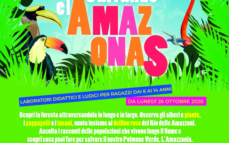 """""""Salvando el Amazonas"""": In Bct i laboratori per minori alla scoperta dell'Amazzonia"""