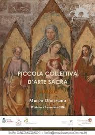 PICCOLA COLLETTIVA D'ARTE SACRA AL MUSEO DIOCESANO DI GUBBIO
