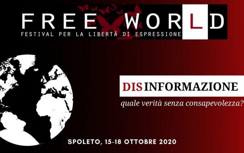 FESTIVAL FREE WOR(L)D, SPOLETO CELEBRA LA LIBERTA' DI ESPRESSIONE. SECONDA EDIZIONE IN SICUREZZA ANTI CORONAVIRUS