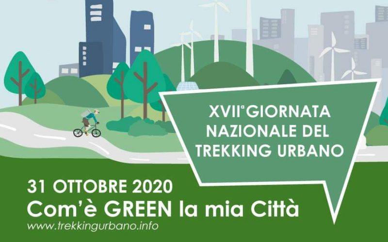"""XVII Giornata Nazionale del Trekking Urbano, sabato 31 ottobre a Perugia e in tutta Umbria. Camminata tra arte, natura, centro storico. Tema 2020: """"Com'è GREEN la mia città"""""""