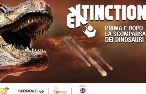 Extinction, Mostra dei Dinosauri. Evento 2020 al Monastero San Benedetto, a Gubbio. Scienza e divertimento per bambini e famiglie, in sicurezza anti Coronavirus