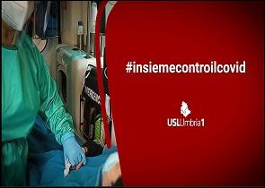 CORONAVIRUS – ONLINE IL VIDEO CONCLUSIVO DELLA CAMPAGNA #INSIEMECONTROILCOVID CON GLI OPERATORI DELL'USL UMBRIA 1