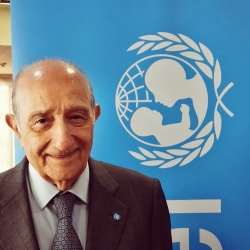UNICEF ITALIA IN LUTTO, SCOMPARSO IL PRESIDENTE FRANCESCO SAMENGO