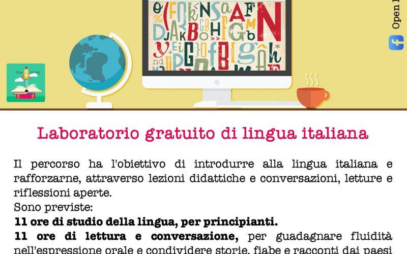 LABORATORIO GRATUITO DI LINGUA ITALIANA ONLINE