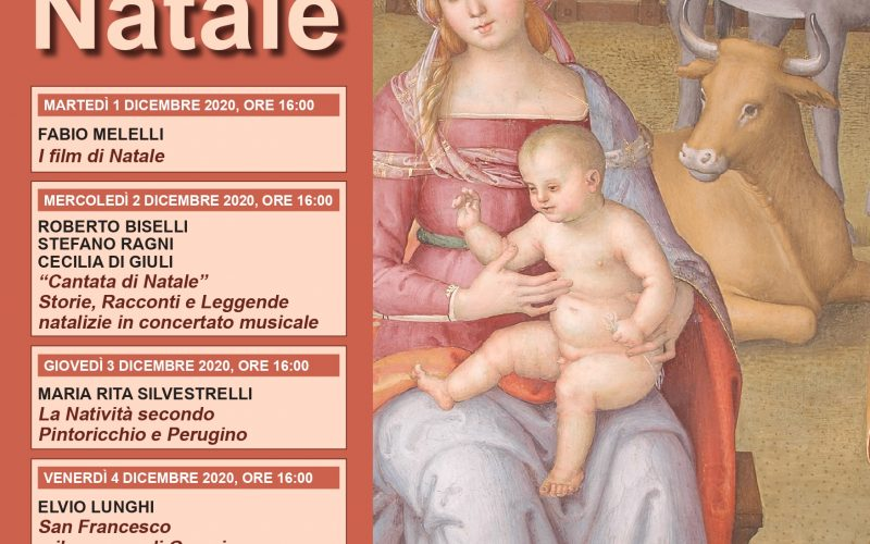 Omaggio all'Italia dall'Università per Stranieri. 6 Lezioni d'Alta Cultura in streaming, sulle tradizioni del Natale