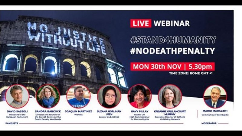 #STAND4HUMANITY #NODEATHPENALTY