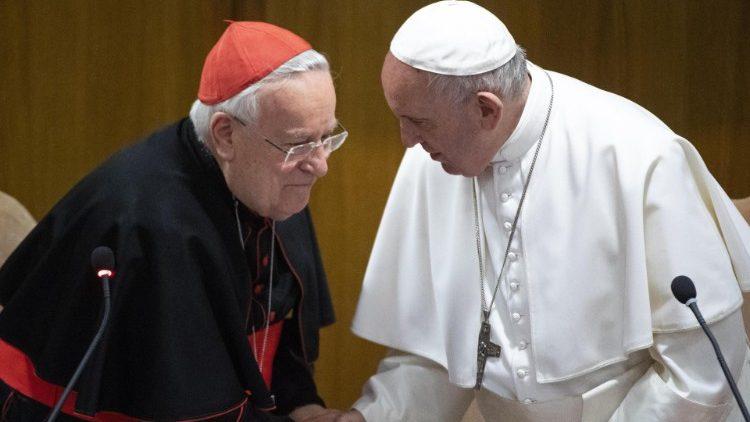 """Papa Francesco chiede notizie del Cardinale Bassetti, ricoverato a Perugia per covid in Terapia Intensiva presso l'Azienda Ospedaliera """"Santa Maria della Misericordia"""""""