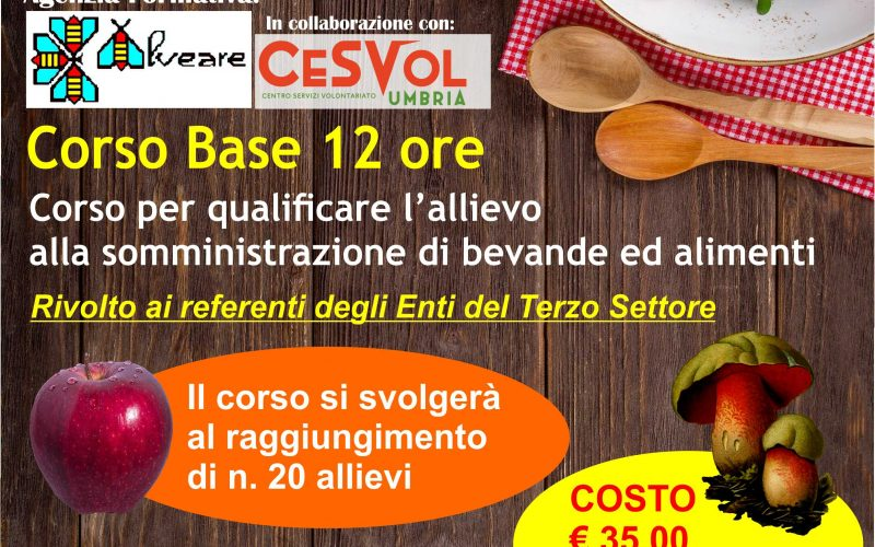 CORSO BASE HACCP