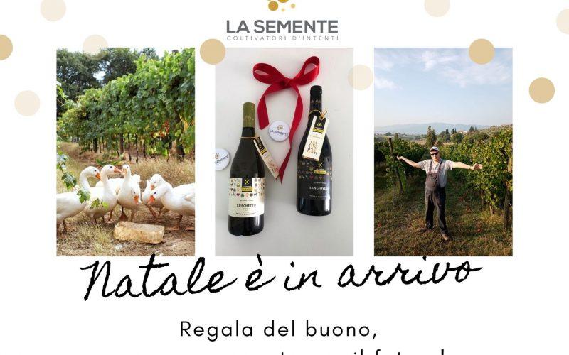 """Natale 2020, con La Semente arrivano """"Le strenne"""". Dalla cooperativa sociale, il regalo natalizio enogastronomico di solidarietà"""