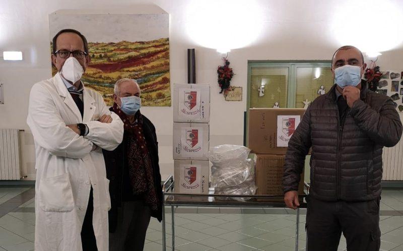 """DONAZIONE DEL LIONS CLUB CITTÀ DI CASTELLO ALLA """"MUZI BETTI"""""""