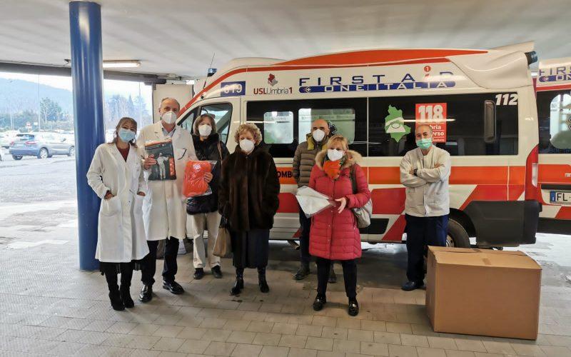 IMPORTANTE DONAZIONE DEL KIWANIS CLUB CITTÀ DI CASTELLO AL PRONTO SOCCORSO DELL'OSPEDALE