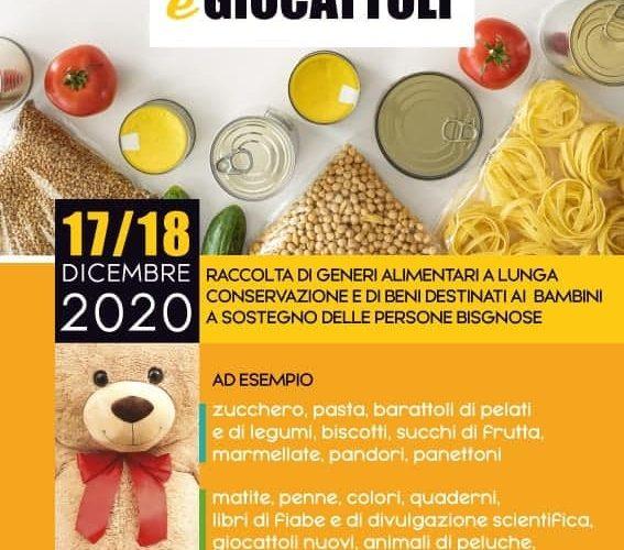 Il 17 e 18 dicembre donate la speranza: Al Cesvol la raccolta di generi alimentari e giocattoli per le associazioni impegnate nel contrasto alle povertà ed alle disuguaglianze