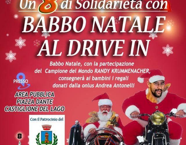 """""""UN 8 DI SOLIDARIETÀ CON BABBO NATALE AL DRIVE IN"""""""