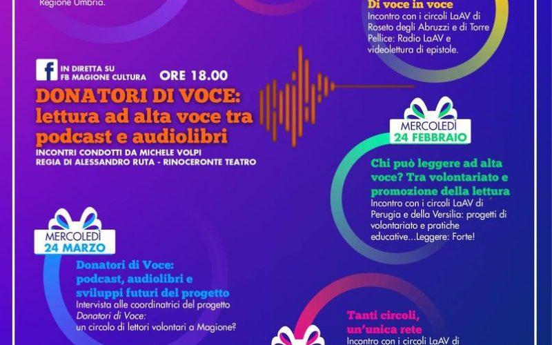 """""""DONATORI DI VOCE: LETTURA AD ALTA VOCE TRA PODCAST E AUDIOLIBRI"""""""