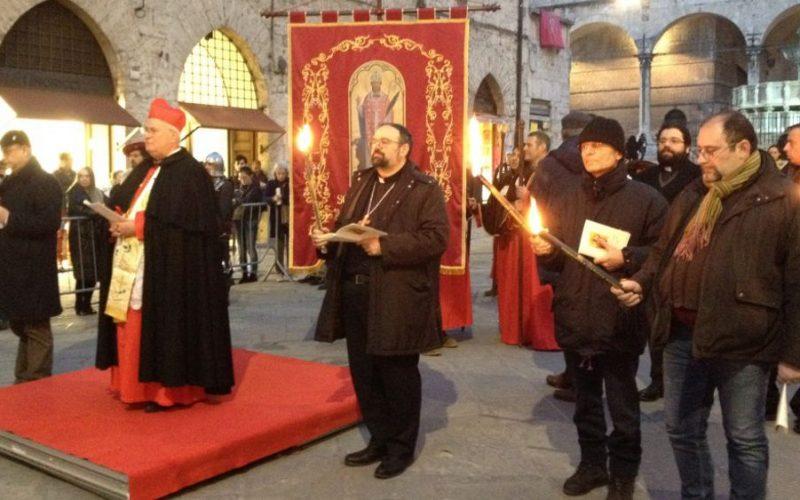 San Costanzo 2021 in periodo Covid. Perugia e le celebrazioni, tradizionali e religiose, in sicurezza anti contagio                                           (foto del 2016, ndr)