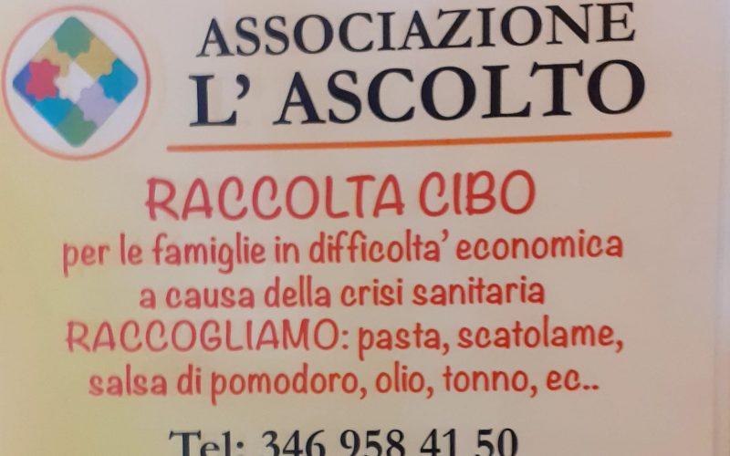 """L'ASSOCIAZIONE """"L'ASCOLTO"""" A SOSTEGNO DELLE FAMIGLIE IN DIFFICOLTÀ"""