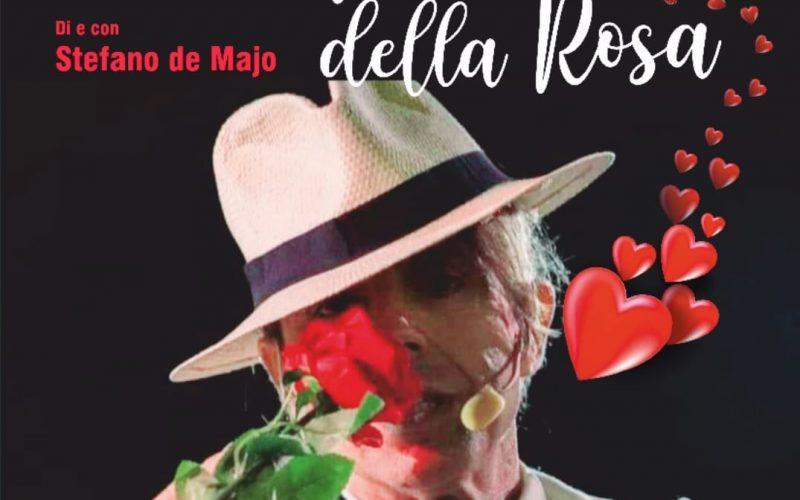 """L'attore Stefano de Majo e l'associazione  Claudio Conti insieme per """"raccontare"""" San Valentino"""