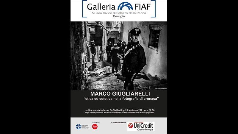 GALLERIA FIAF PERUGIA – INCONTRO CON MARCO GIUGLIARELLI