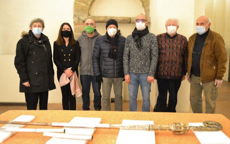 RICCIO DI PASTORALE, SOPRALLUOGO DELLA SOPRINTENDENZA AL MUSEO DIOCESANO TIFERNATE