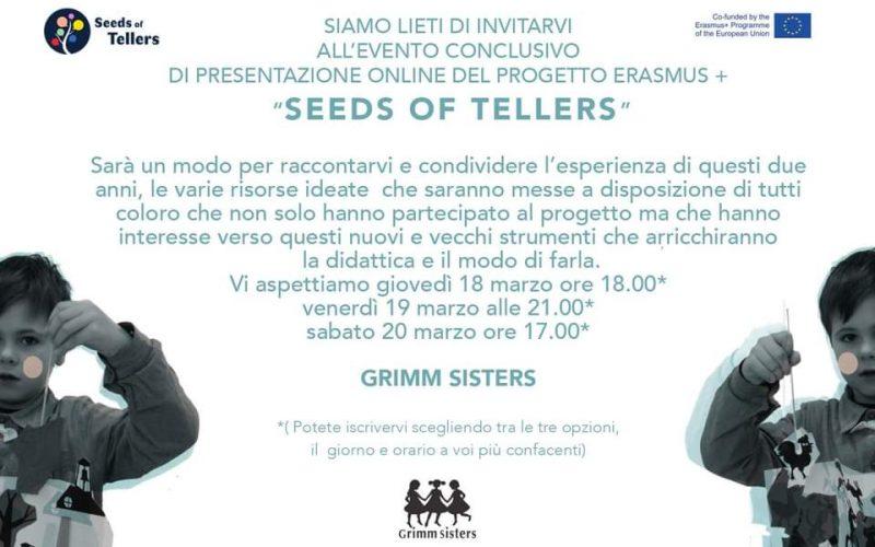Workshop sull'apprendimento basato sull'oralità, li propone l'Associazione Grimm Sisters