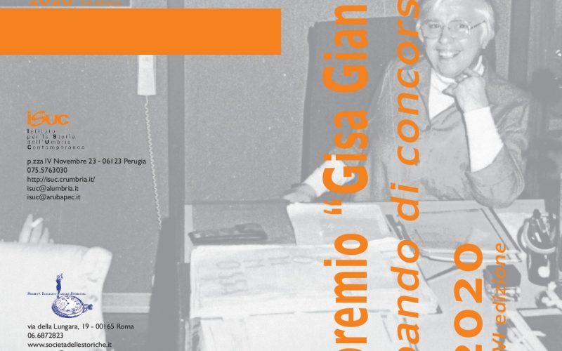 """PREMIO """"GISA GIANI"""" 2020-2021, 16^EDIZIONE"""