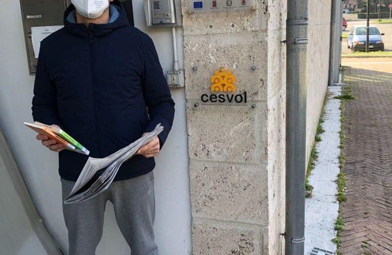 """""""La Bct a casa tua"""": In due mesi i volontari del Cesvol consegnano a domicilio 130 libri"""