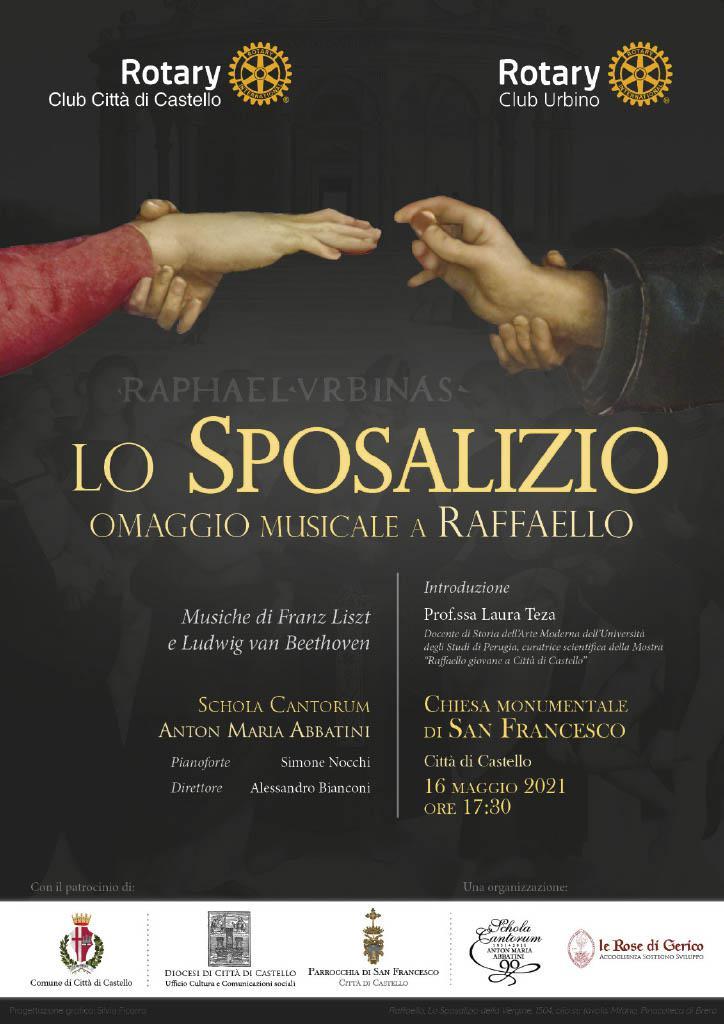 """CONCERTO """"LO SPOSALIZIO"""" (OMAGGIO MUSICALE A RAFFAELLO)"""