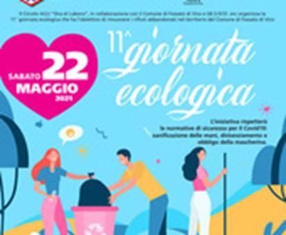 """SABATO 22 MAGGIO A FOSSATO DI VICO 11^ EDIZIONE DELLA """"GIORNATA ECOLOGICA"""""""
