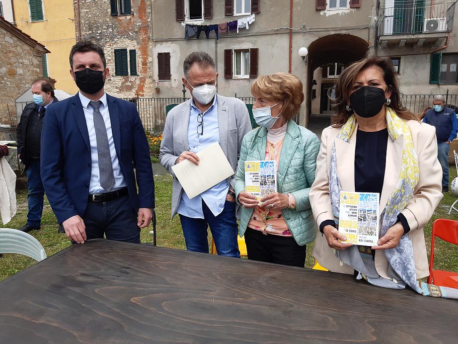 CASTIGLIONE DEL LAGO – BENI COMUNI, FIRMATO IL PRIMO PATTO DI COLLABORAZIONE