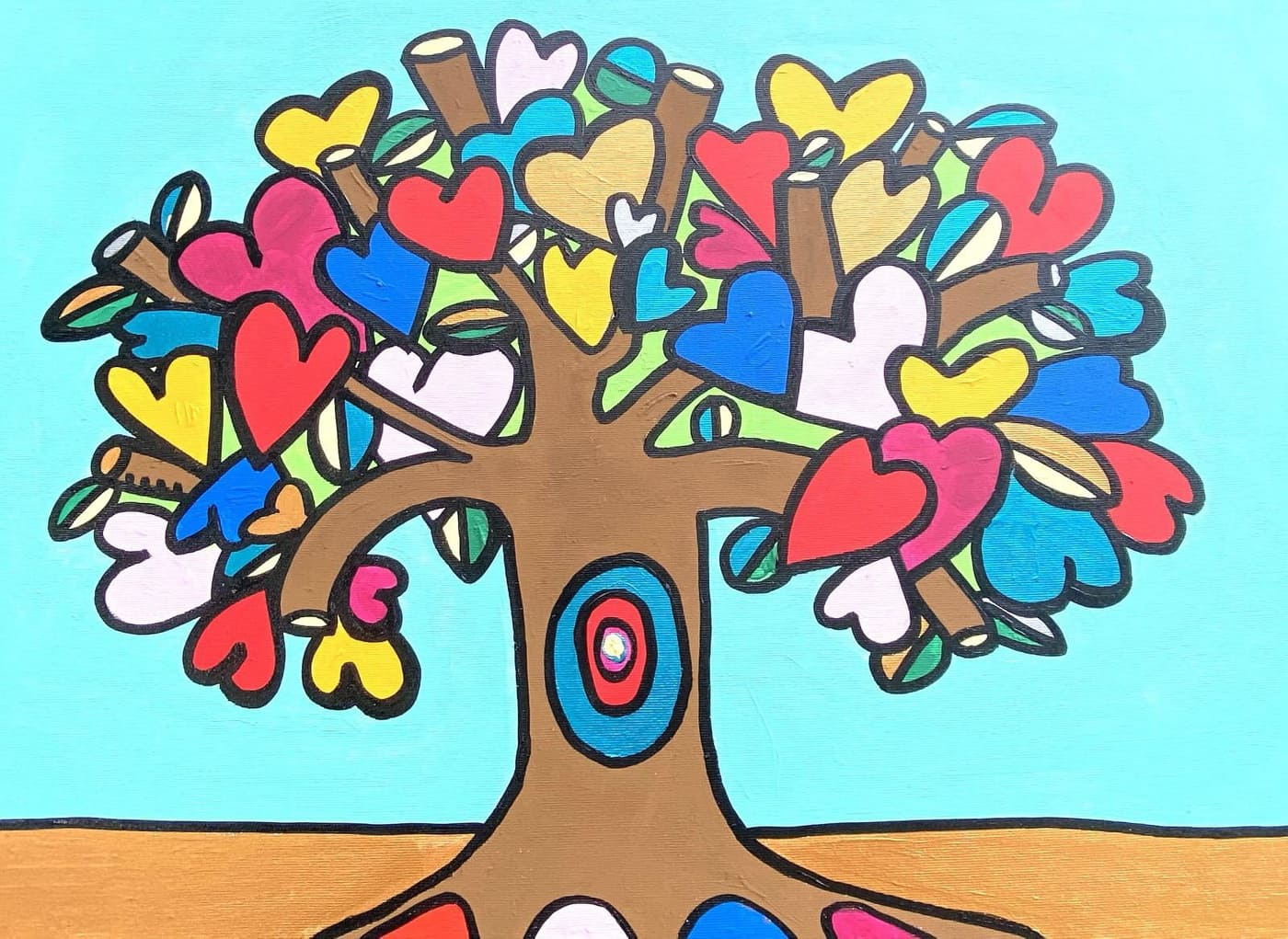 L'albero della Pace colora Avigliano Umbro
