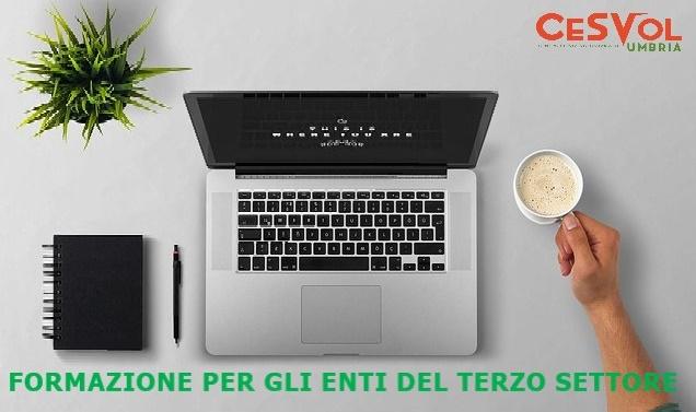 Formazione online per tutte le Associazioni, con il Cesvol Umbria
