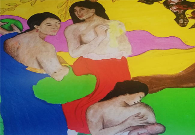 LA DONNA NELL'ARTE, percorso di formazione con tecniche di arteterapia e narrazione di sé sulla tematica del femminile